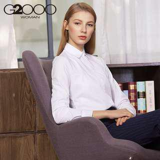 G2000 WHITE FORMAL TOP