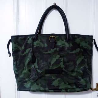 Calvin Klein Large Camouflage Tote Bag