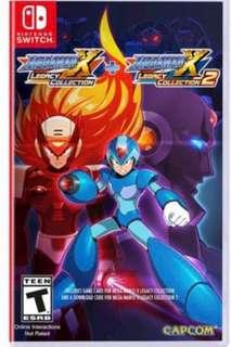 全新 Megaman X Legacy Collection 1+2 日英