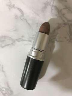 MAC matte lipstick gritty girl