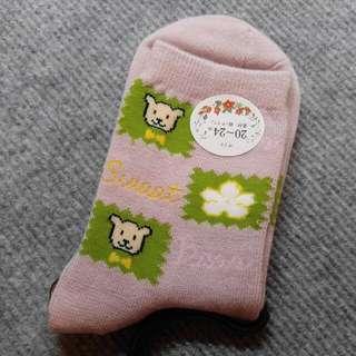 🌟 包平郵 ! 日本 小熊 短襪 Bear Socks