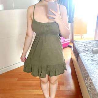 Ruffle beach dress