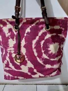Michael Kors Pink Pattern Bag