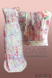 Oasis Long/Maxi Floral Colorful Dress
