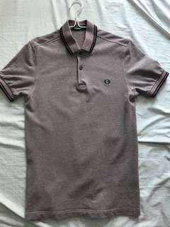 Fred Perry Polo Tee (Striking Maroon)