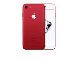 iPhone 7紅色特別版,128G!女用機!