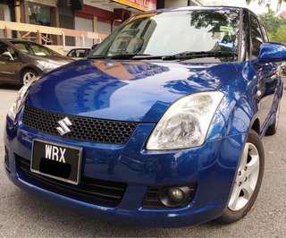 2008 Suzuki Swift 1.5 (Auto) Sport Blue Full Loan Blh