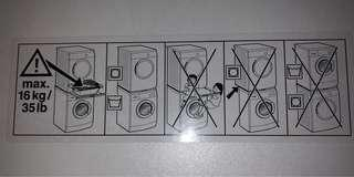 Bosch Washer Dryer Stacking Kit with Pull Out Drawer