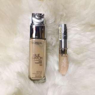L'oreal True Match Foundation & Concealer