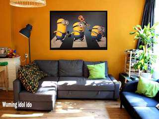 Poster framed minions