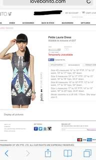 Love Bonito Petite Laurie Dress