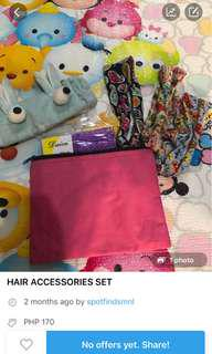 REPRICED HAIR ACCESSORIES SET