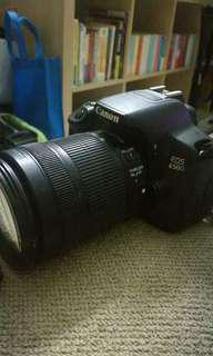 Canon EOS 650D w/18-55mm EF-S f/3.5-5.6 III Lens Kit
