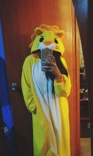 Lion Onesie Kigurumi Pajama