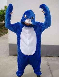 Sharky Onesie Kigurumi Pajama Costume
