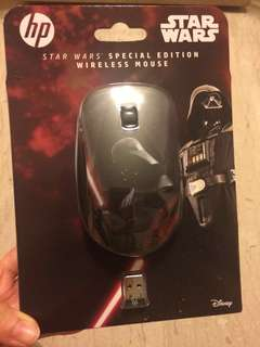 HP Star Wars special edition wireless mouse