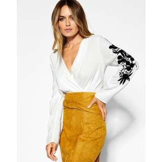 Sheike Solar Skirt Mustard Size 6