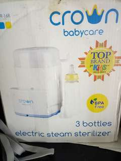 steril botol susu crown