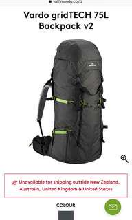 Travel Backpack really good conditions