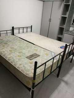 Metal Bed Frame Single