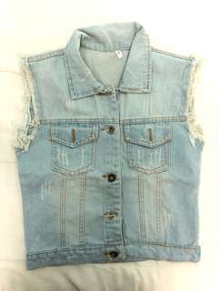 Maong vest small