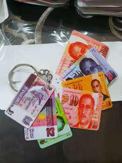 Singapore Currency Keychain NDP