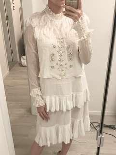 Dress beading cocktail dress
