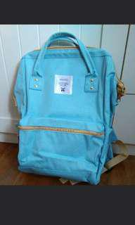 Anello backpack Bag aqua blue classic