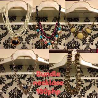 Bundle necklace