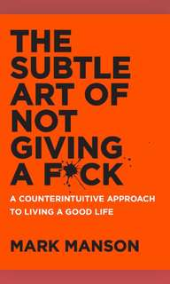 [audiobook] The Subtle Art of Not Giving a F*ck