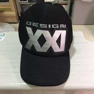 DESIGN21帽  XXI(經典LOGO)