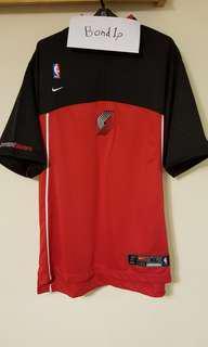 Nike Portland trail blazers shooting shirt