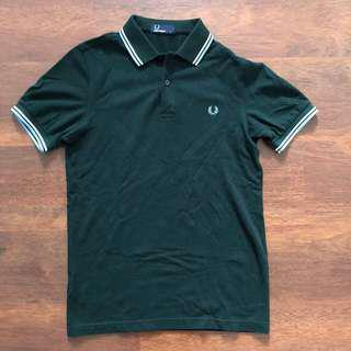 Authentic Fred Perry Twin Tipped M3600 Polo Tee