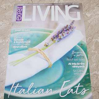 Expat Living Magazine August 2018 BRAND NEW