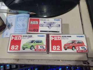 Tomica Passo Lot