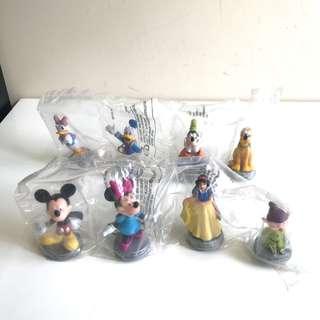 迪士尼 Disney 一百周年紀念模型公仔 100th Anniversary Collectible Toy
