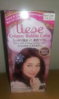 Liese hair cream color