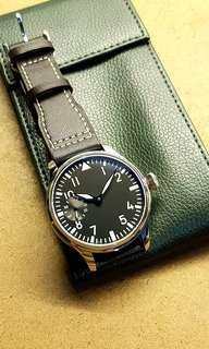 Black Classic Pilot Men's Watch