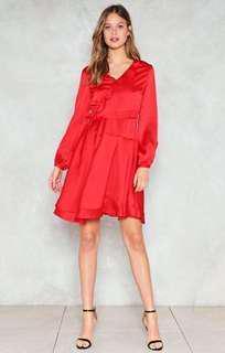BNWT satin dress