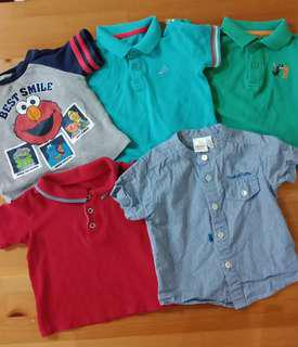 Mothercare/Levis/Trudy Teddy Shirt