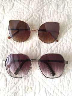 Trendy sunglasses both for $5