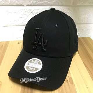 🇺🇸🇬🇧New Era Cap 9-Forty LA 刺繡Logo 黑底黑字(現貨)