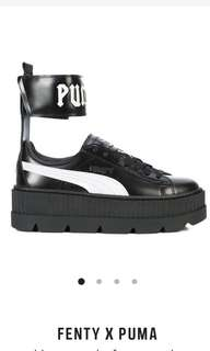 Black Fenty Puma shoes [Looking For]