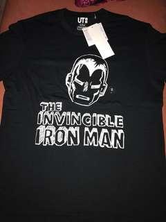 UNIQLO The Invincible Iron Man graphic Tshirt