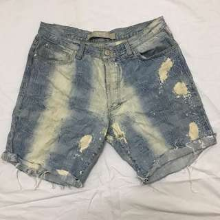 Authentic Super Distressed Cutoff Versace Jeans Couture
