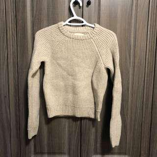 TNA Taupe Sweater