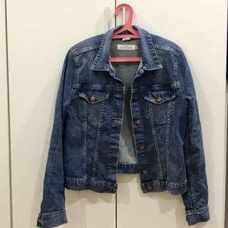 H&M Pocketless Denim Jacket