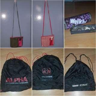 Bags, Pencil Cases BUNDLE
