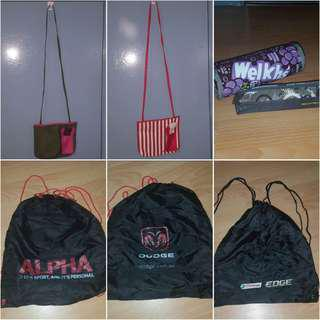 Bags, Pencil Cases BUNDLE