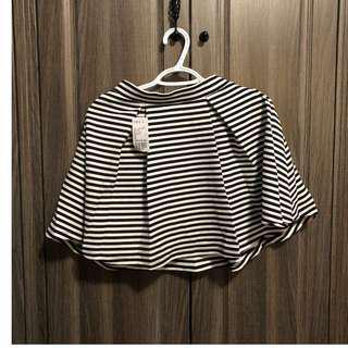 Forever 21 Striped Flowy Skirt
